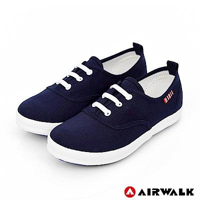 【AIRWALK】樂趣一夏經典帆布鞋-童款-丈青