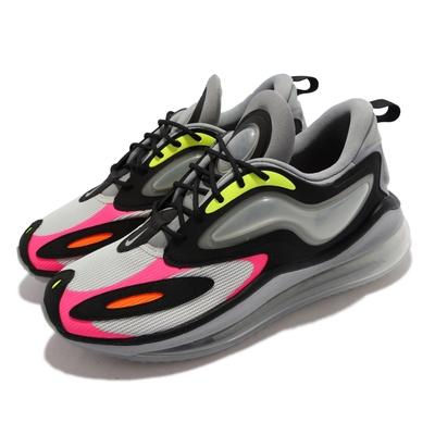 Nike 休閒鞋 Air Max Zephyr 運動 男鞋 海外限定 氣墊 避震 包覆 氣墊造型裝飾 灰 黑 CT1682-002