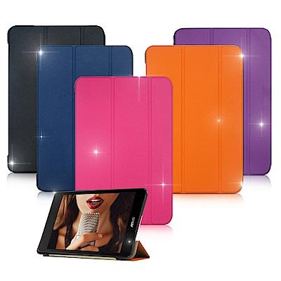 VXTRA ASUS ZenPad 3 8.0 Z581KL經典皮紋平板皮套