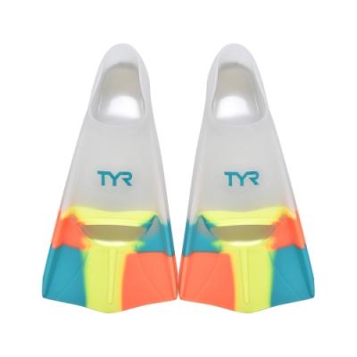 TYR 成人款訓練用專業蛙鞋 Styker Silicone Fin