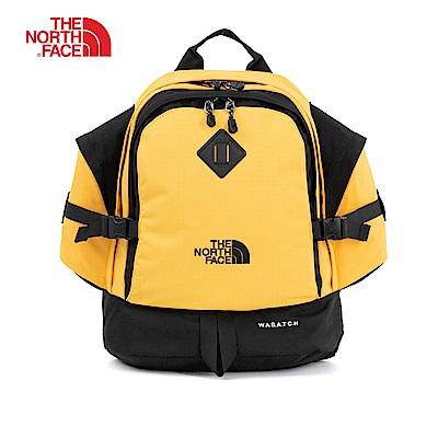 The North Face北面經典款撞色戶外休閒日常雙肩背包|3KUQLR0