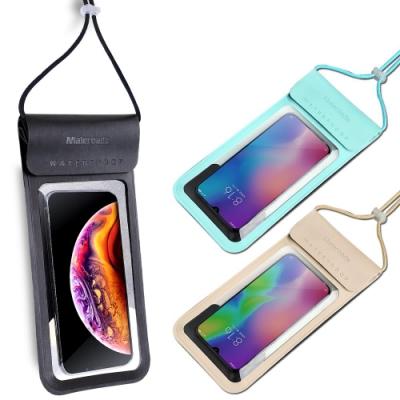 Maleroads 升級加大設計款!! 時尚防水袋 適用6.<b>5</b>吋以下手機 螢幕直接觸控