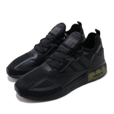 adidas 休閒鞋 ZX 2K BOOST 襪套式 男鞋 愛迪達 三葉草 反光 緩震 球鞋穿搭 黑 黃 FV8453