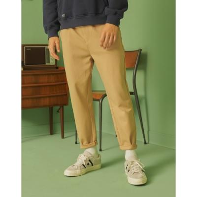 CACO-彈力針織羅馬褲(二色)-男【A1AR073】
