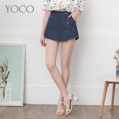 東京著衣-YOCO 青春美眉一片裙造型褲裙/短褲-S.M.L