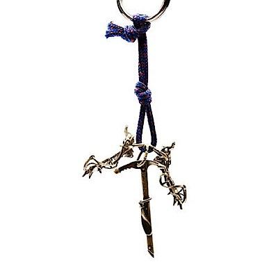 SAC #28 青銅鑰匙圈掛飾 冰爪+健行冰斧