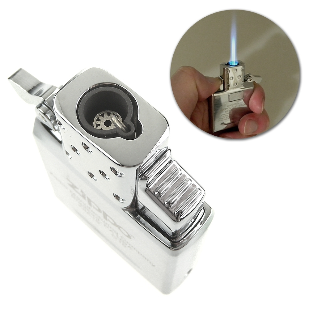 ZIPPO 噴射式藍火機芯-按壓式電子點火(單火焰款)