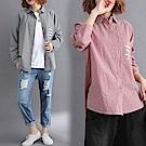 簡約純色襯衫-共2色(M-2XL可選)    NUMI  森