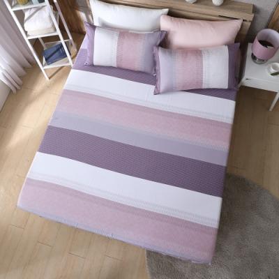 【岱思夢】 時尚韻味-咖 特大100%天絲床包枕套三件組