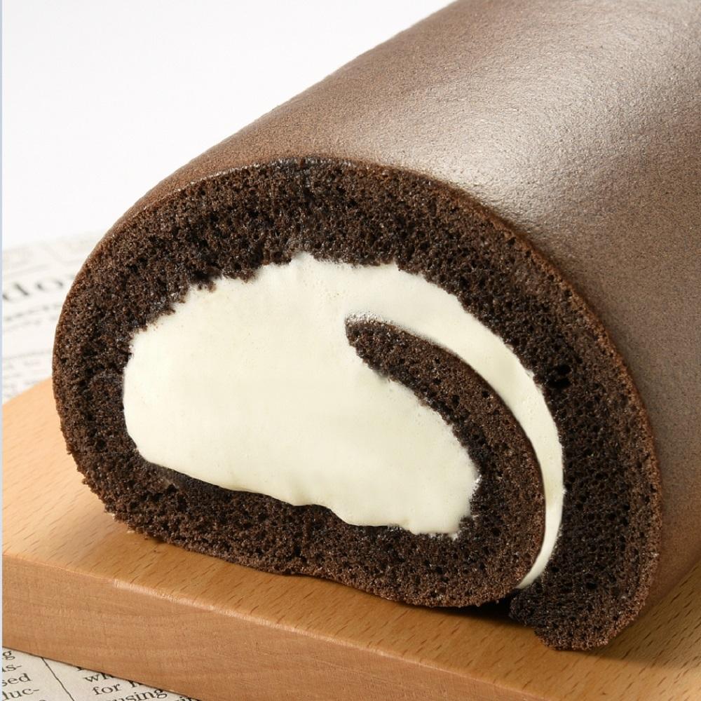 (滿10件)亞尼克生乳捲 特黑巧克力