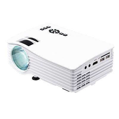 福利品-IS愛思 P040W 140吋WiFi無線同屏鏡射微型投影機