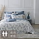 MONTAGUT-晨露藍枝-300織紗萊賽爾纖維天絲-兩用被床包組(雙人) product thumbnail 1