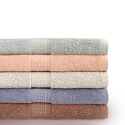 【Incare】高級100%純棉厚款素色大浴巾(2入組)
