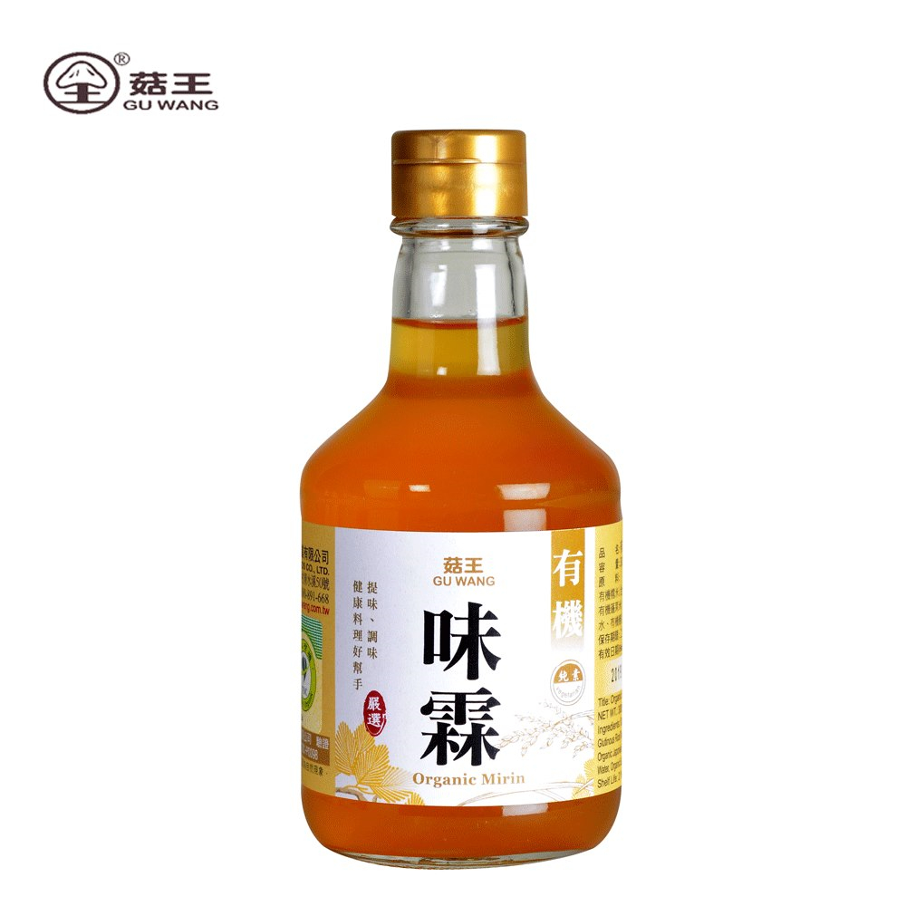 菇王‧有機味霖(12瓶/箱)