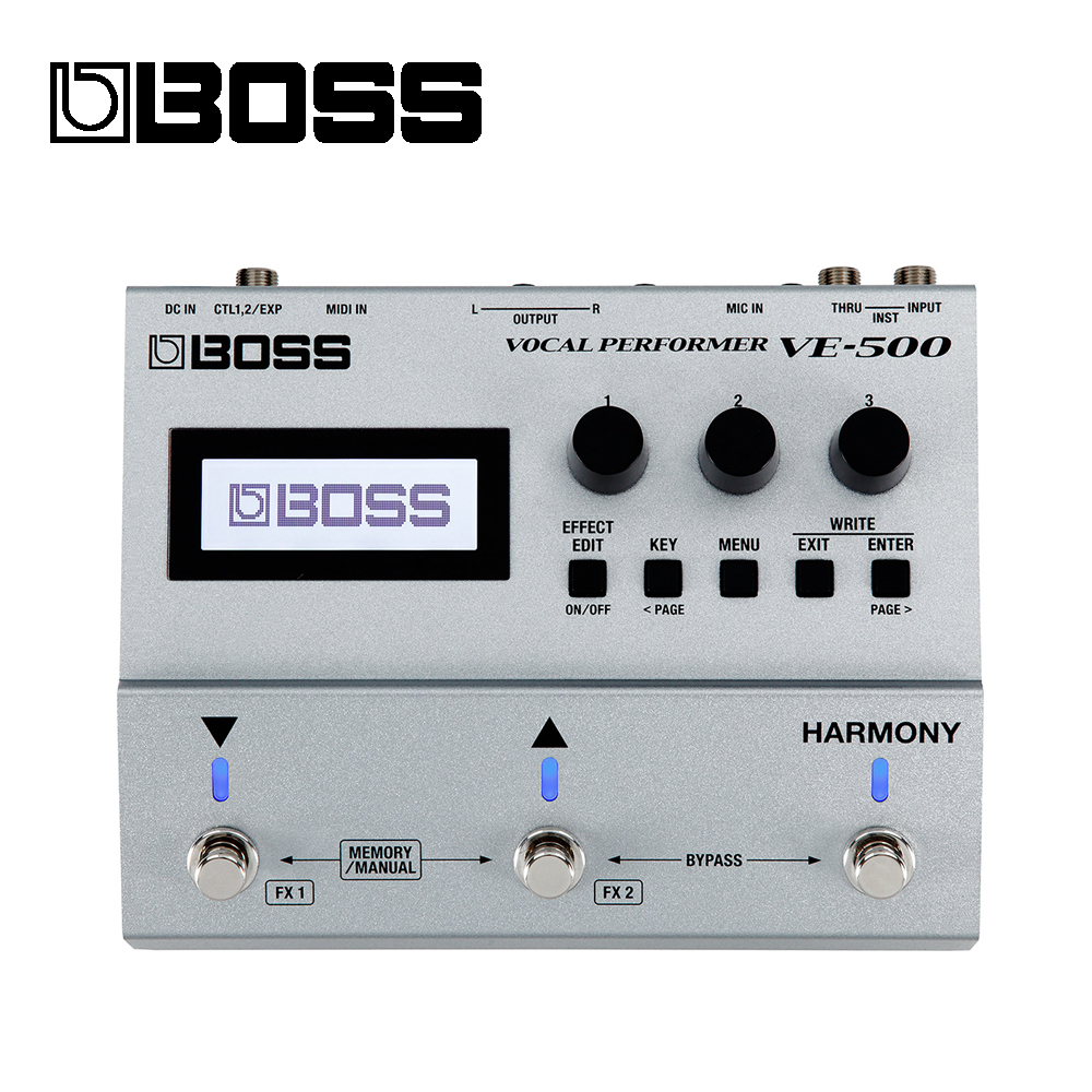 BOSS VE-500 人聲效果器