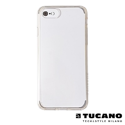 TUCANO DUO 雙料美背PC 防撞軟邊保護套 iPhone7/8(4.7吋)-黃