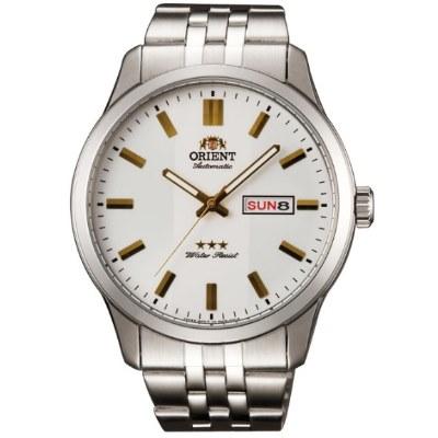 ORIENT 日本 東方錶 三星上將 機械錶(SAB0B009W)-白/43mm