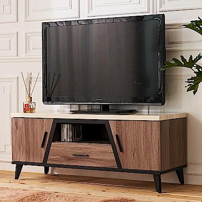 時尚屋 克里斯4尺仿石面電視櫃  寬120.9x深43x高50.2cm
