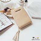 MARC ROCOO-艾莉塔系列-風琴卡片包 -MR-323-柔美杏