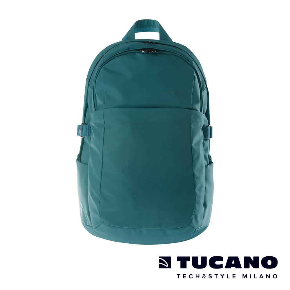 TUCANO BRAVO 15.6吋智能USB外接充電後背包-藍
