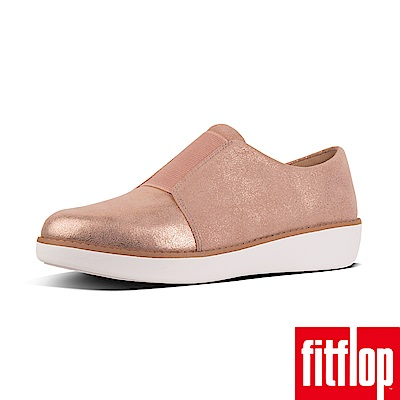 FitFlop GLIMMERSUEDE樂福鞋粉色