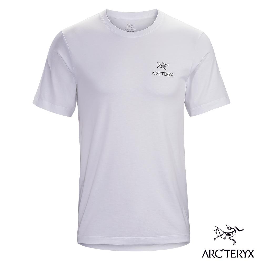 網路獨家●Arcteryx 始祖鳥 男 24系列 Emblem 有機棉 短袖Tee 白