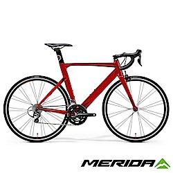 (無卡分期-12期)《MERIDA》低風阻跑車 Reacto 銳克多 300 紅 2018