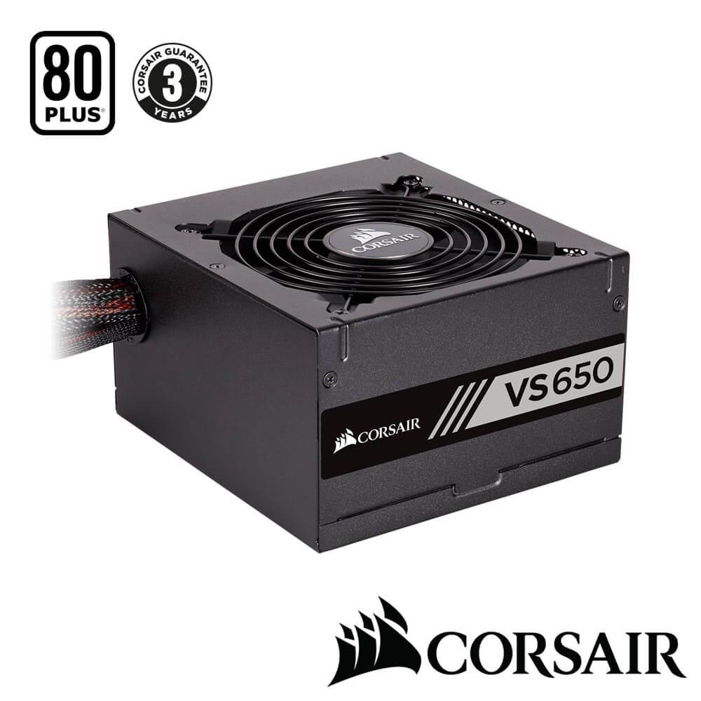 CORSAIR海盜船 VS Series? VS650 80Plus白牌 電源供應器