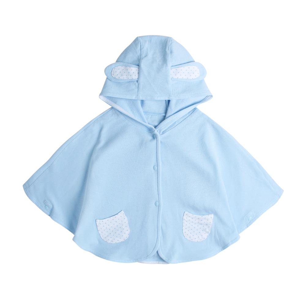 baby童衣 嬰兒披風 新生兒純棉動物造型 42071