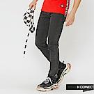 H:CONNECT 韓國品牌 男裝-簡約質感牛仔長褲-黑