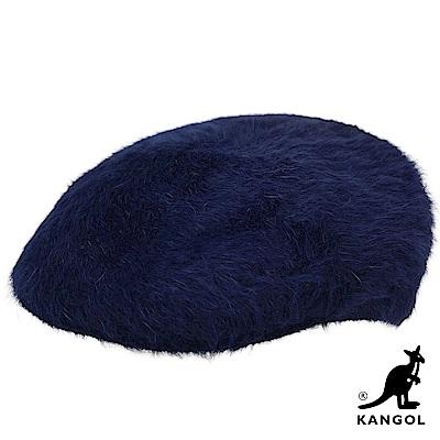 KANGOL鴨舌帽-藍色