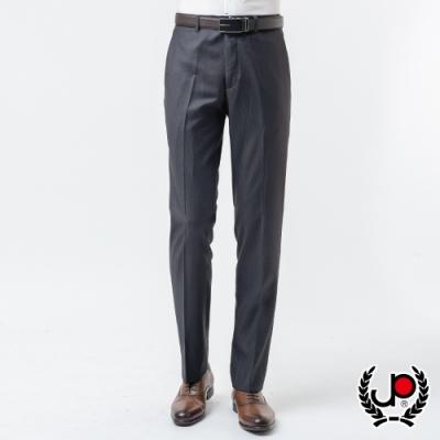 極品名店 精選設計條紋平面西褲_黑(BW867-1)