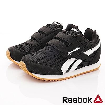 Reebok頂級童鞋 經典簡約學步鞋款 FO049黑(小童段)