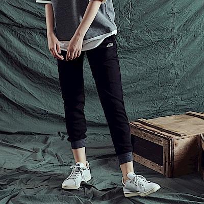 CACO-301撞色棉長褲-情侶款-女【RNA021】