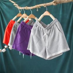寬鬆運動短褲高腰顯瘦百搭褲子五色-設計所在