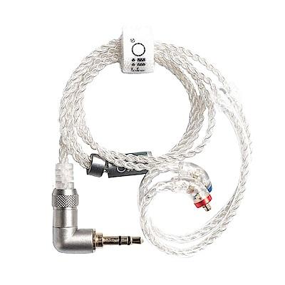FiiO 3.5mm高純度單晶銅鍍銀MMCX繞耳式耳機升級短線(LC-3.5BS)