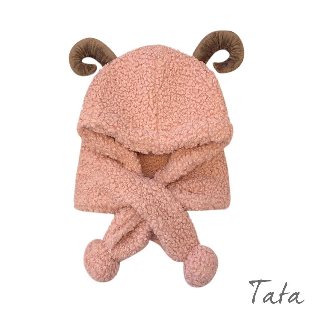 童裝 羊角QQ毛帽 共二色 TATAKIDS product image 1