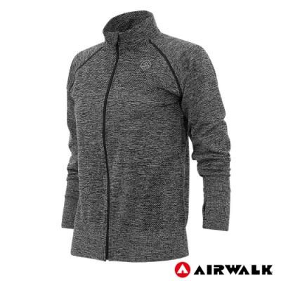 【AIRWALK】女款無縫立領外套-共兩色