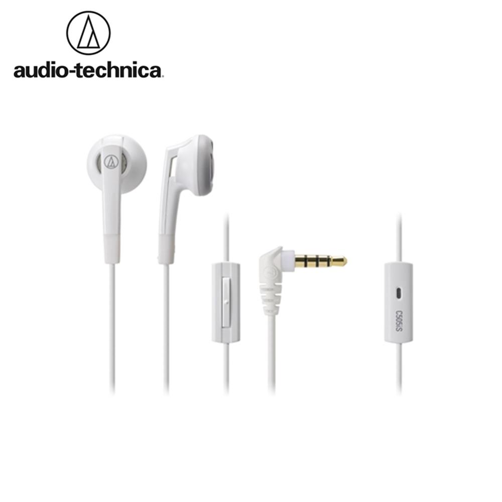 日本鐵三角Audio-Technica半密閉型耳塞式耳機ATH-C505iS