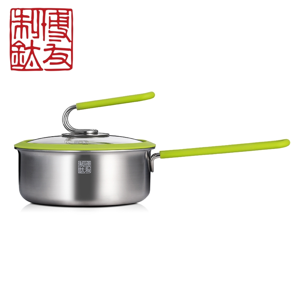 【博友制鈦】時光16輔食鍋 純鈦99.9% T6-F16