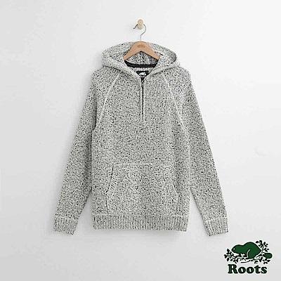 Roots 男裝- 雪狐連帽上衣-白