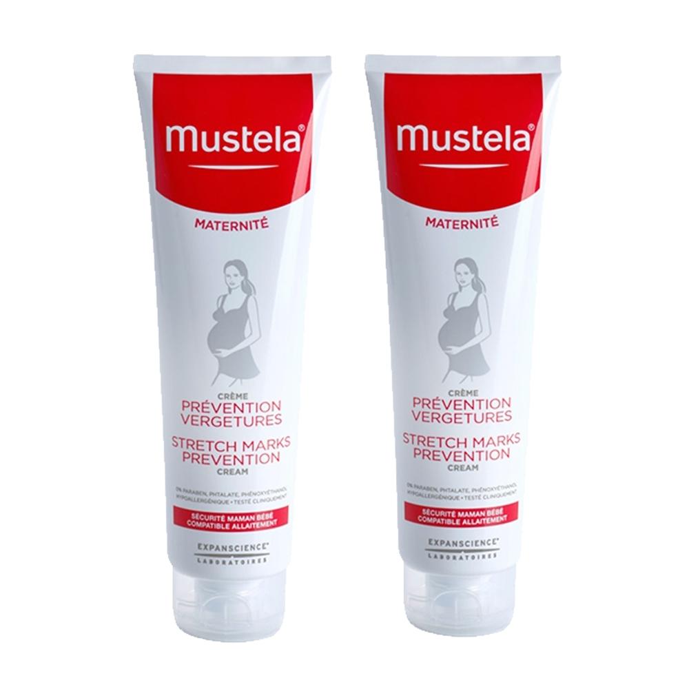 (買一送一)Mustela慕之恬廊 孕膚霜 150ml 有香型 (效期2020/02)