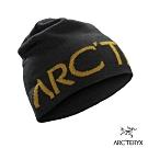 Arcteryx 始祖鳥 Logo 保暖針織羊毛毛帽 24K黑