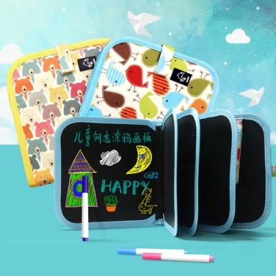 Conalife 兒童創意便攜輕巧多層畫冊(超值4入組)