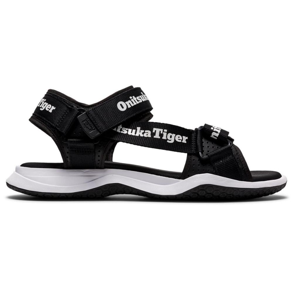 Onitsuka Tiger鬼塚虎- OHBORI STRAP 休閒涼鞋 1183B305-001 黑色