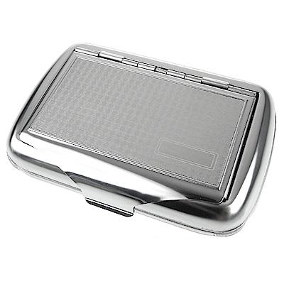 英國進口TOBACCO CASE 錫製收納盒(煙盒/捲煙紙盒/煙草盒)-格紋款