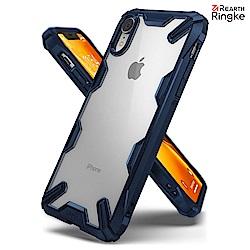 iPhone XR [Ringke Fusion X] 透明背蓋手機保護殼-藍