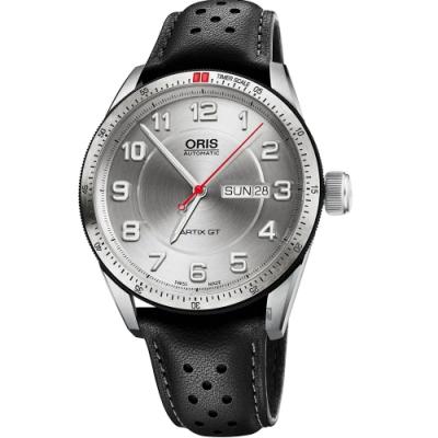 Oris 豪利時 Artix GT Day Date 機械手錶-銀/42mm