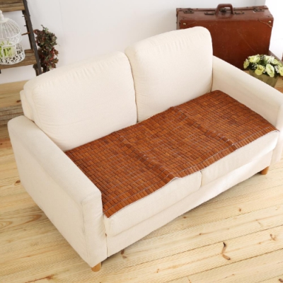 BUHO布歐 精品碳化麻將雙人坐墊(50x110cm)
