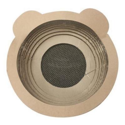 日本寵喵樂《貓耳朵碗型貓抓板》貓窩/貓跳台 SY-116X1入組